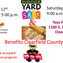 Toys for Tots Yard Sale